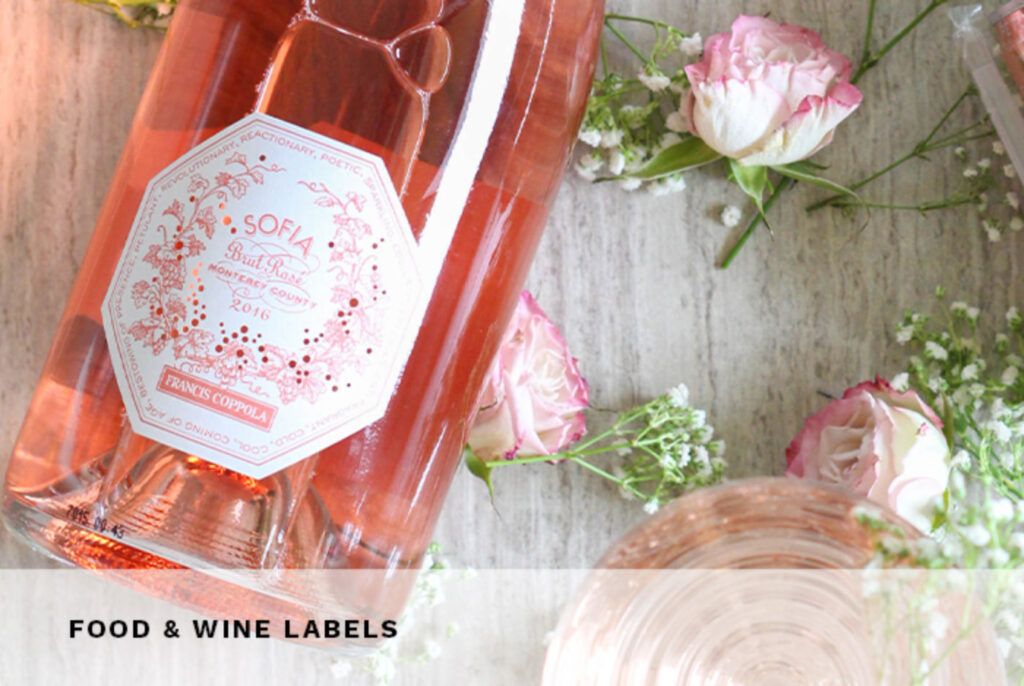 Food and Wine Labels at Colorzone